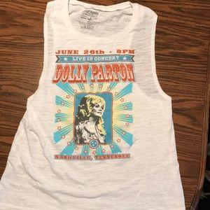 Tops - Dolly Parton tank top